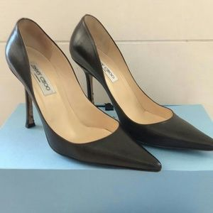 Jimmy Choo Chocolate Brown Pumps